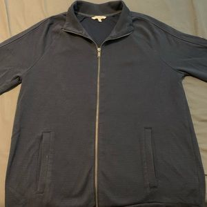 Men's CK Zip-Up Sweater Size Large